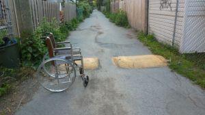 Wheelchair,lane,Verdun,Neath Turcot